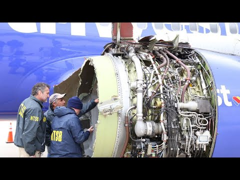 NTSB update on Southwest flight engine explosion