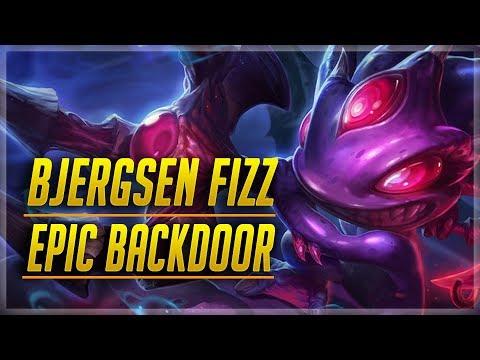 Bjergsen Plays Fizz Mid in Korea Bootcamp - Epic Backdoor