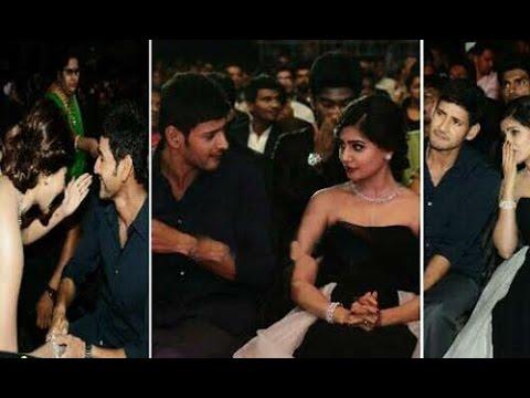 Mahesh Babu, Samantha & Trivikram at  Filmfare Awards 2014 : TV5 News