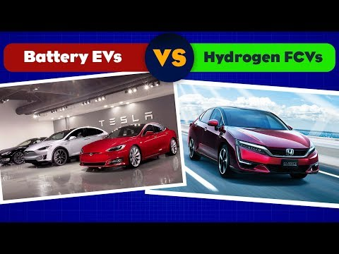 Why Battery Electric Cars Are Dominating Hydrogen Fuel Cell Cars
