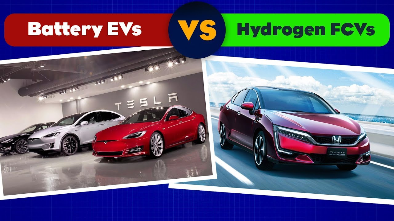 Why Battery Electric Cars Are Dominating Hydrogen Fuel Cell