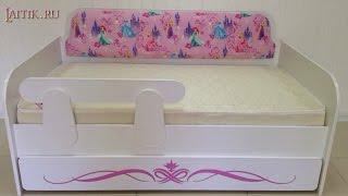 Детская мягкая мебель. Детский диван кровать - Тахта Принцесса. Интернет-магазин