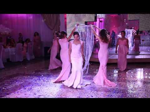 Подарок жениху. Свадьба Улукбек&Мээрим 24.09.2016. Танцевальная группа 'Керемет'.