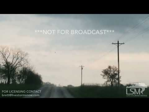 04-30-19 Wheaton, MO Tornado and Downed Power Lines Arcing