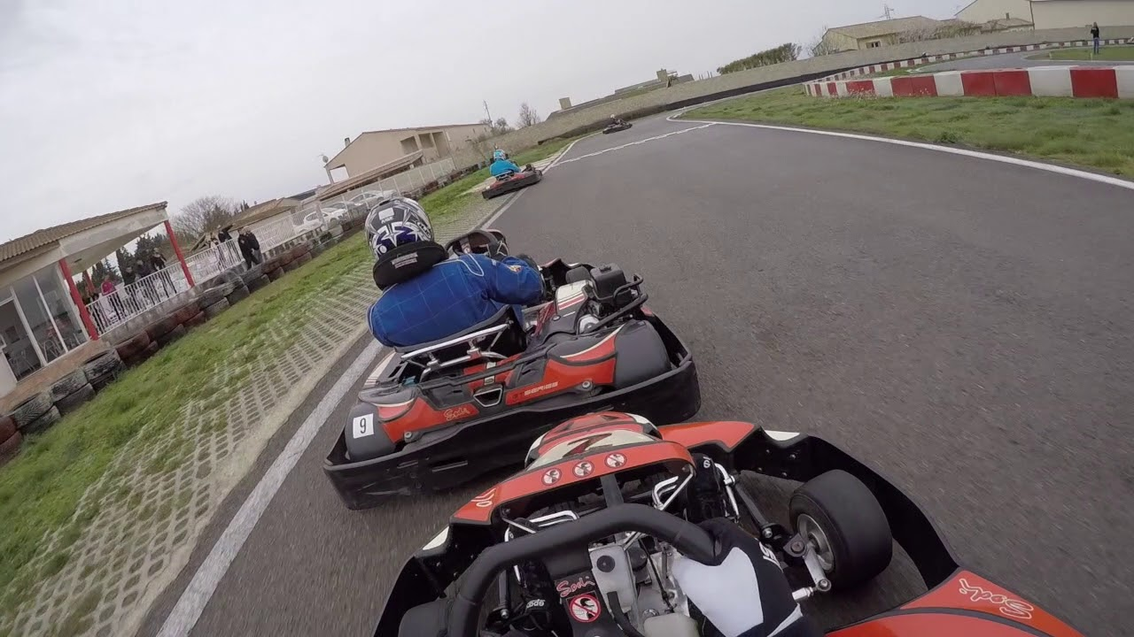 Sud Karting Bouillargues Vintage Cup Manche 1 25 Mars 2018