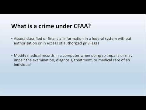Laws on Computer Crimes