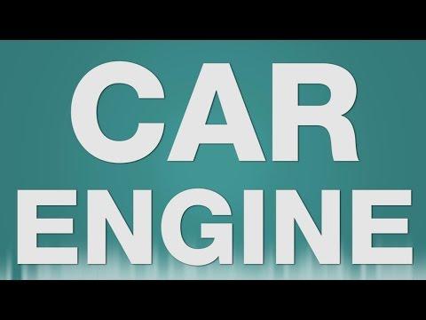 Car Engine SOUND EFFECT - Automotor starten anlassen SOUNDS