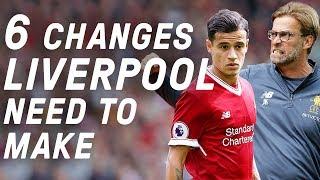 6 Ways Jurgen Klopp Can Make Liverpool Great Again