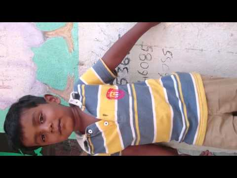 Shoot The Kuruvi child Song Video