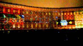 Лазерное шоу в Петербурге, январь 2015, Laser show in Saint Petersburg, january 2015