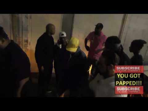 Chris Brown arrives to Playhouse Nightclub in Hollywood