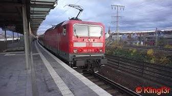 Zugverkehr in Nürnberg Steinbühl - X-Wagen Fernverkehr Regio