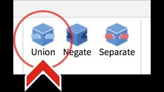 UNION AND NEGATE - Roblox Studio