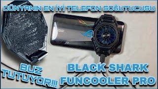BUZ TUTAN TELEFON SOĞUTUCU - BLACK SHARK FUNCOOLER PRO - DÜNYANIN EN GÜÇLÜSÜ screenshot 1