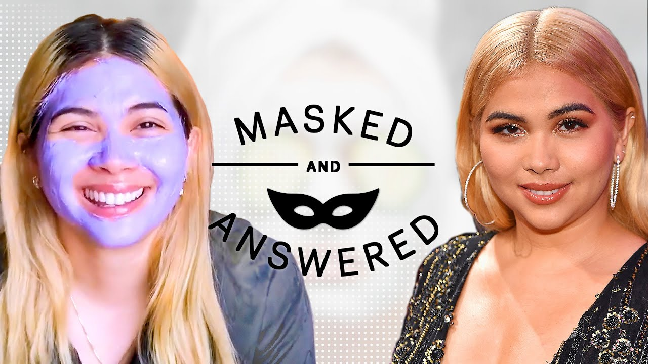 Hayley Kiyoko Reveals Her Biggest Hair Disaster Ever | Masked and Answered | Marie Claire