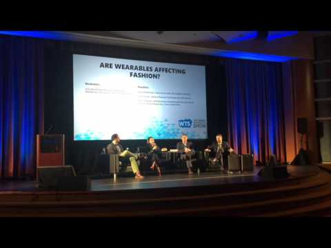 Karl J. Weaver discusses Smart Watches & Fashion @2016 Wearable Technology Show