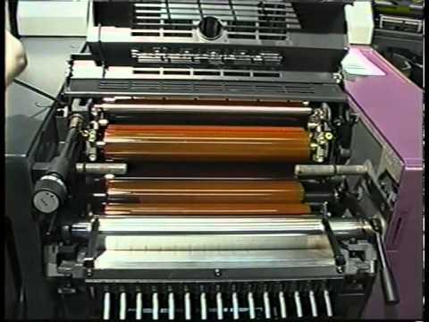 Heidelberg Printmaster QM 46 Training VIdeo