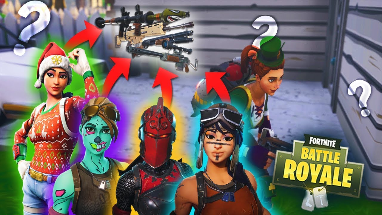 RANDOM WEAPON GENERATOR In Fortnite Battle Royale! - YouTube