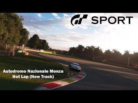 [GT Sport] Autodromo Nazionale Monza Hot Lap! (New Track)