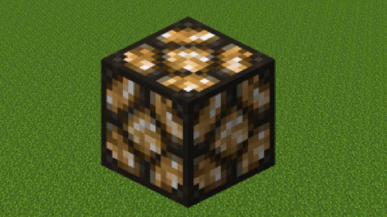 как сделать светящийся блок в майнкрафт #2