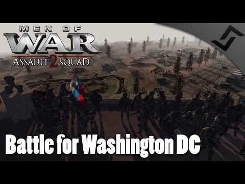Battle for Washington D.C. - Men of War: Assault Squad 2 - Wigga's Cod Mod