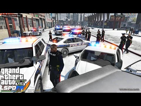 gta 5 lspdfr ps4 - cinemapichollu