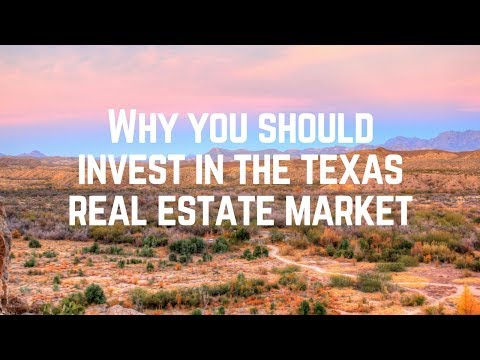 Why You Should Invest In The Texas Real Estate Market - Apartment Complex Investment