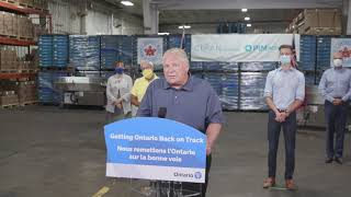 Premier Ford makes an announcement in Beamsville | August 4 YouTube Videos