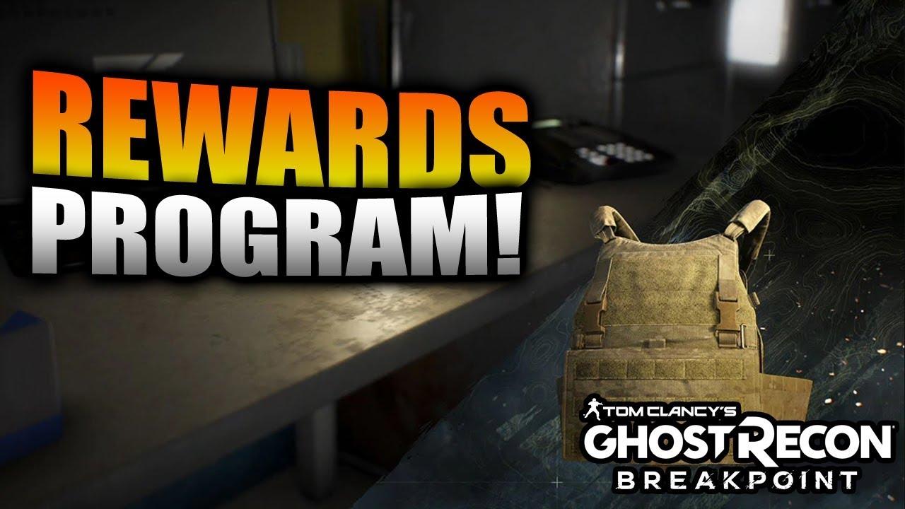 Ghost Recon Breakpoint - Rewards Program in Wildlands
