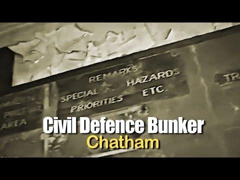 Civil Defence Bunker, Chatham, Kent