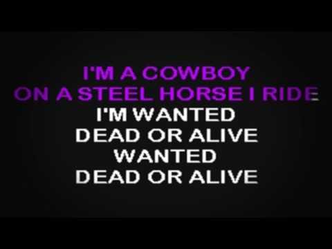 SC2027 02   Bon Jovi   Wanted Dead Or Alive [karaoke]