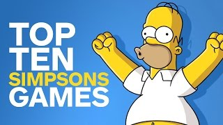 Top 10 Simpsons Games