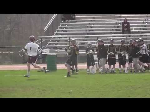 Sayville Lacrosse Jordan Marsh #28 2013 Varsity Highlights