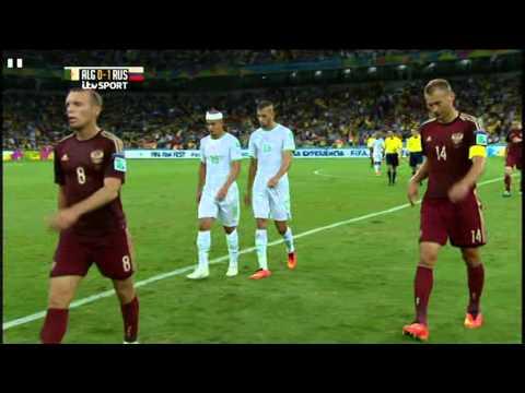 Algeria Russia 2014 World Cup Full Game ITV
