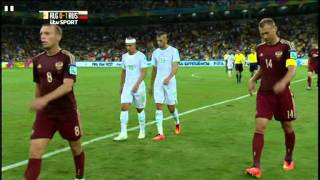 Algeria Russia 2014 World Cup Full Game ITV