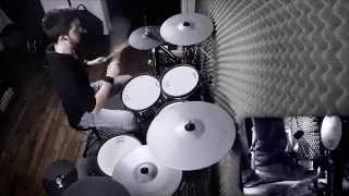 The monster - Eminem (ft Rihanna) - DRUM REMIX by Adrien Drums