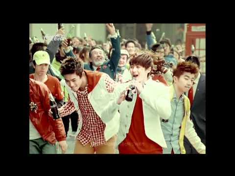 [CF] Coca Cola 2011 - Open Happiness - Rock Version (2PM)