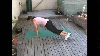 Emergency Beach Body System Workouts - Log Jumps