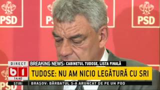 Tudose, TRANSPIRAT și EMOTIV la prima declarație oficială în calitate de premier
