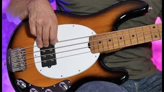 Review Demo - Music Man 2018 StingRay Bass