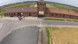 מחנה ריכוז אושוויץ בירקנאו, אושוויץ 2 במבט מהאוויר