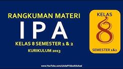 IPA kelas 8 SMP Kurikulum 2013 Semester 1 dan 2