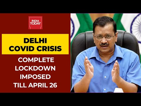Delhi Lockdown 2.0: Arvind Kejriwal Imposes Lockdown Till April 26, Says Health System May Collapse