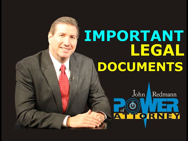 Legal Documents Every Adult Should Have