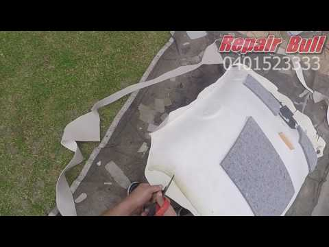 Ford Falcon FG XR6 Roof Lining Repair - Car Roof Lining Repair