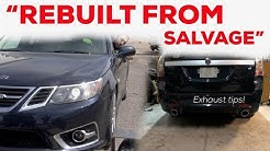 REBUILT FROM SALVAGE - Inspection, insurance registration & exhaust tips!