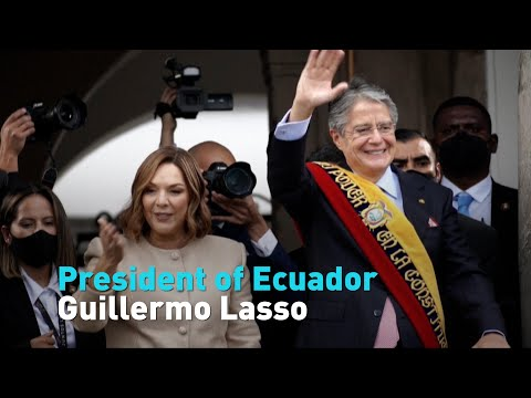 Guillermo Lasso is the new president of Ecuador