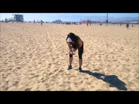 Motivation Training On The Beach Geraldine Morgan Youtube