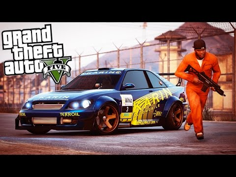 GTA 5 - Evade Ep14 - PRISON BREAK!!