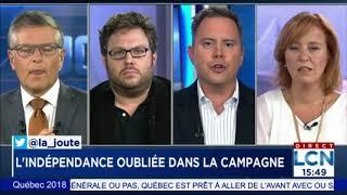 Mathieu Bock-Côté - L'indépendance oubliée ? - Campagne électorale Québec 2018